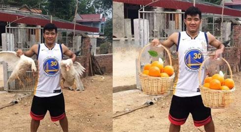 """Hài hước MXH chế ảnh Hà Đức Chinh """"nhặt cam"""" sau trận bán kết Việt Nam - Campuchia"""