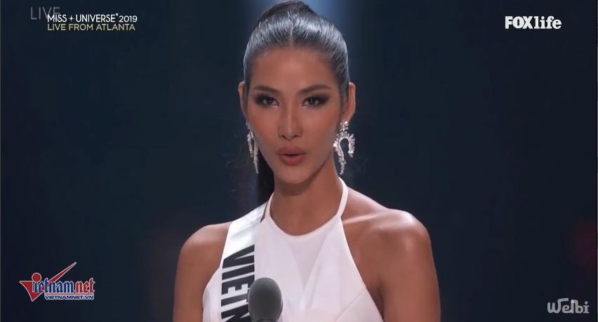 Nam Phi đăng quang Miss Universe, Hoàng Thùy dừng chân top 20-11