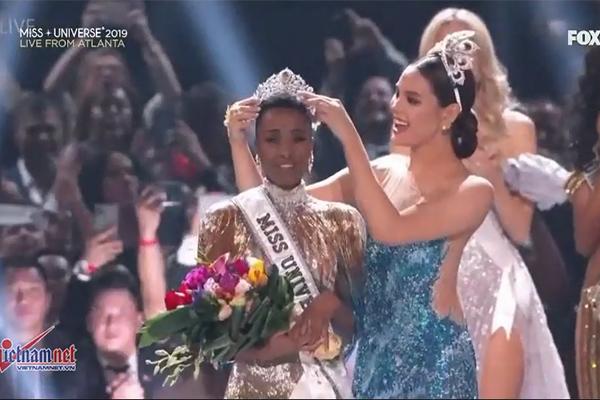 Nam Phi đăng quang Miss Universe, Hoàng Thùy dừng chân top 20-18