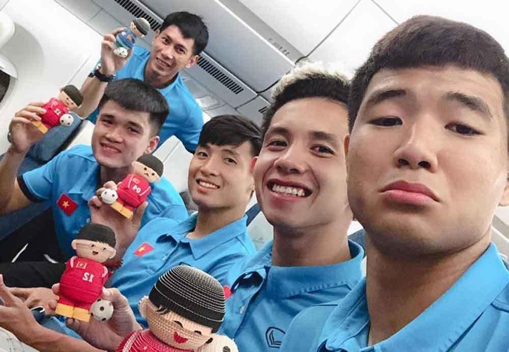 Tiết lộ về tính cách hài hước của cầu thủ Hà Đức Chinh-3