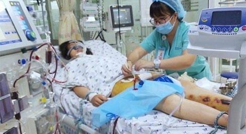 Ngỡ cảm cúm thông thường, bé gái suýt chết sau 3 ngày sốt, ói
