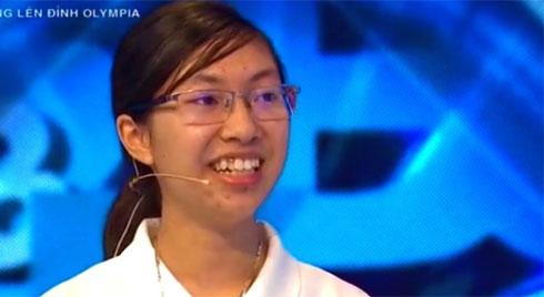 Nữ sinh Ninh Bình vào chung kết Đường lên đỉnh Olympia năm thứ 20