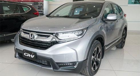 Đánh giá chi tiết xe Honda CR-V 2020