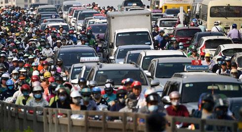 Ô nhiễm vượt mức: Đề xuất xe phải rửa trước khi vào Hà Nội
