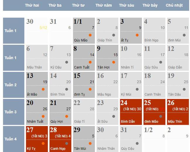 Chi tiết lịch nghỉ Tết Nguyên đán 2020 của học sinh: Nhiều bố mẹ giật mình khi nhìn số ngày con được nghỉ-2
