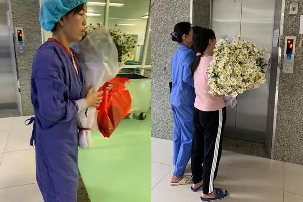 Người mẹ Bắc Giang trải hoa cúc trắng khắp người con sau khi con hiến tạng-1