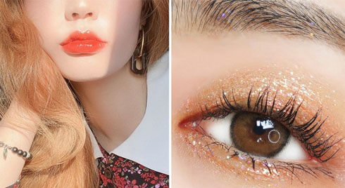 Không phải son lòng môi hay má hồng say rượu, đây mới là 3 kiểu makeup đẹp xỉu được gái Hàn thi nhau diện mùa lễ hội này