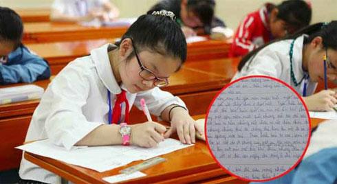 Được yêu cầu miêu tả thần tượng của mình, cô bé lớp 7 tả nhân vật bất ngờ khiến bố mẹ, thầy cô rơi nước mắt