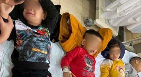 Gần 60 học sinh mầm non ở Thanh Hóa nhập viện nghi do ngộ độc