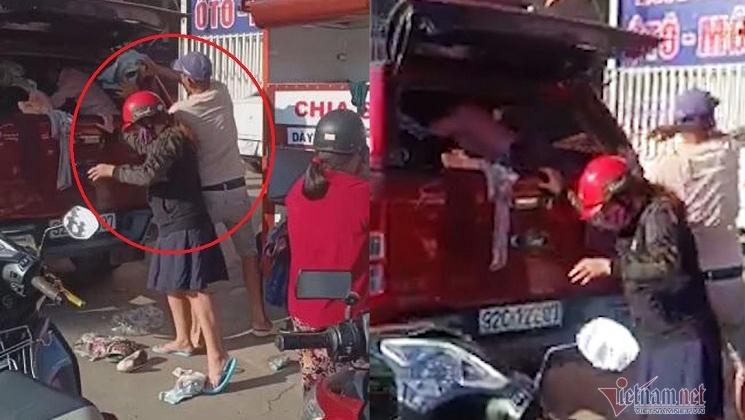 Thực hư clip 'đại gia' đi xế hộp tranh áo quần từ thiện ở Đà Nẵng