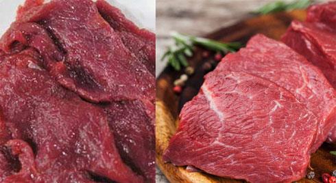 Cận Tết, cẩn trọng mua phải thịt bò giả, làm thế nào để mua miếng thịt bò ngon cho cả nhà thưởng thức?