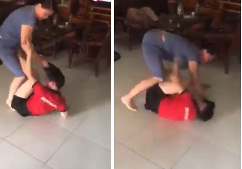 Nóng trên mạng xã hội: Mẹ chồng - con dâu túm tóc, giằng co, đánh nhau ngay giữa nhà-1