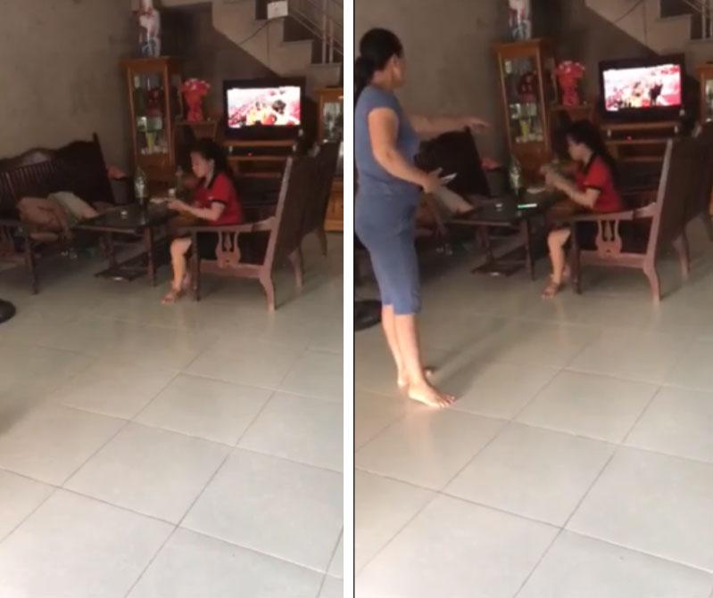 Nóng trên mạng xã hội: Mẹ chồng - con dâu túm tóc, giằng co, đánh nhau ngay giữa nhà-3