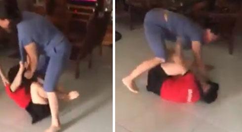 Nóng trên mạng xã hội: Mẹ chồng - con dâu túm tóc, giằng co, đánh nhau ngay giữa nhà