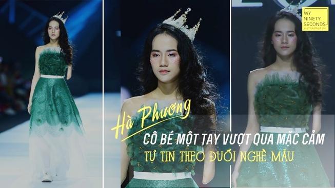 Thiếu nữ Hà Nội vượt mặc cảm cụt tay, tự tin theo đuổi nghề mẫu