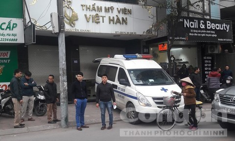 Người đàn ông tử vong khi đến thẩm mỹ viện Việt Hàn hút mỡ-1