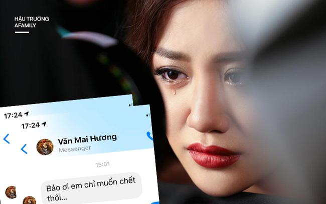 Xót xa với tin nhắn Văn Mai Hương gửi bạn thân khi bị lộ clip riêng tư: Em chỉ muốn chết thôi...-1
