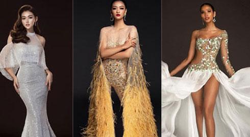 Ngắm lại loạt váy dạ hội nóng bỏng mỹ nhân Việt mang tới trường quốc tế năm 2019