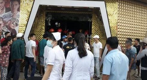 Sập vũ trường King Night Club ở Vũng Tàu: Nhiều người mắc kẹt, ít nhất 6 người nhập viện cấp cứu