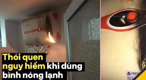 Cảnh báo: 5 thói quen sử dụng bình nóng lạnh có thể gây nguy hiểm tới tính mạng cả gia đình