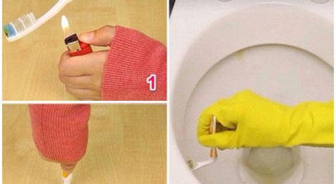 Bàn chải đánh răng cũ chớ vội vứt đi, để lại làm những mẹo cực kì hữu ích này