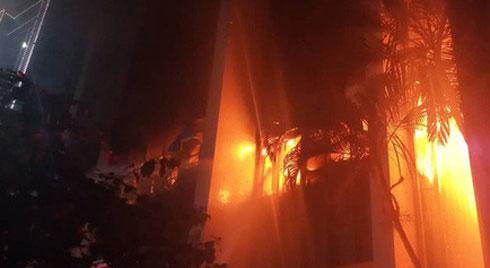 Cháy tòa nhà PV Oil Thanh Hóa, 9 người thương vong