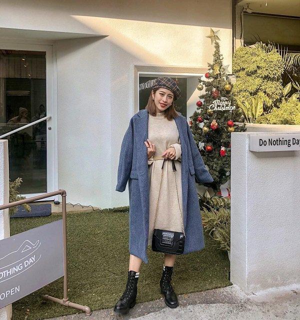 Mách nhỏ nàng cách biến hoá trang phục đi làm, đối phó thời tiết sáng mát, tối căm căm-14