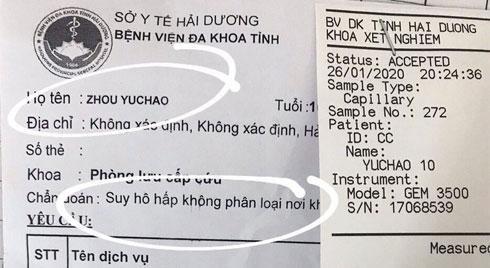Hải Dương: Cách ly 18 y, bác sỹ tiếp xúc với bệnh nhân Trung Quốc 10 tuổi nghi nhiễm virus corona