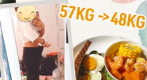Từ 57kg xuống 48kg, gái Đà Nẵng chia sẻ bí quyết giảm cân cấp tốc chỉ sau 2 tuần