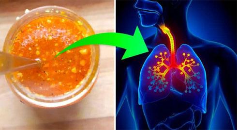 Thực phẩm bảo vệ và làm sạch phổi, ngăn ngừa các bệnh hô hấp
