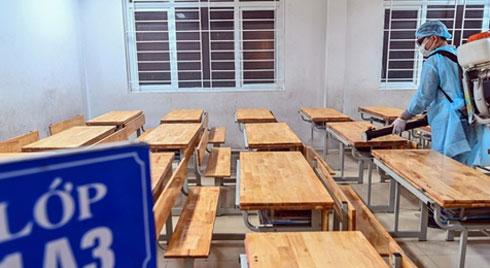 Hà Nội cho học sinh nghỉ đến ngày 9/2 phòng chống dịch corona
