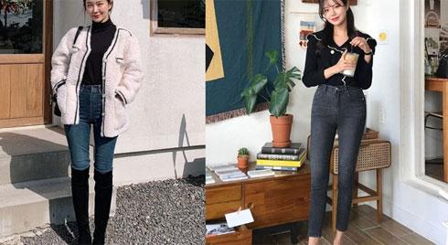 Quần skinny jeans khiến nhiều nàng