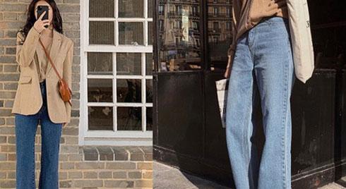 """Để 2020 mặc đẹp """"bá cháy"""" hơn năm cũ, nàng nào cũng nên tậu gấp 5 kiểu quần jeans sau"""