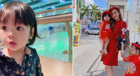 Vợ Hoài Lâm đáp trả khi con gái bị bình luận về ngoại hình