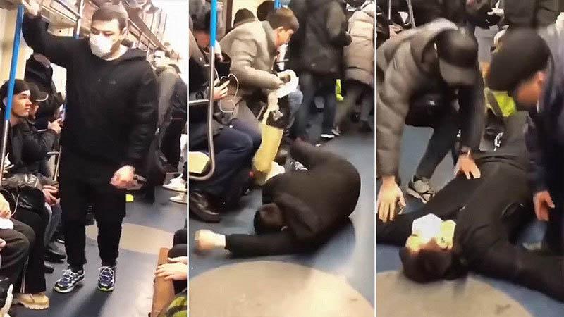 Blogger Nga bày trò nhiễm virus corona trên tàu điện ngầm đối mặt 5 năm tù