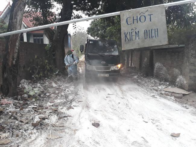 Cám cảnh nơi ổ dịch cúm A/H5N6 đầu tiên phát hiện ở Hà Nội-6
