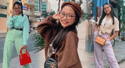 Phương Mỹ Chi ngày càng ăn mặc sành điệu, đến túi hiệu vài chục triệu cũng tậu liền tay