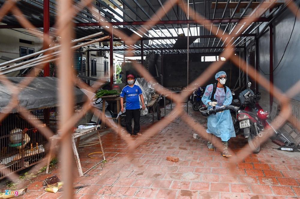 Chốt chặn 24/24h ở vùng dịch Covid-19 tại Vĩnh Phúc-7
