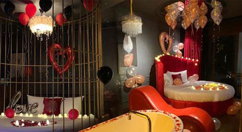 """Khách sạn tình yêu kiểu """"50 sắc thái """" gây xôn xao dịp Valentine, liên tục tung chiêu mời chào trên mạng xã hội"""