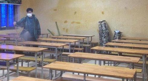 Sở GD-ĐT Vĩnh Phúc xác nhận 38 học sinh có biểu hiện ho, sốt, khó thở đều âm tính với virus Corona