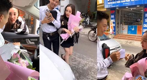 """Chồng nhà người ta tặng vợ quà Valentine hơn 3 tỷ gây sốt MXH: """"Chỉ cần làm việc lương thiện để nuôi vợ con thì vác bơm ra đường bơm xe cũng làm"""""""