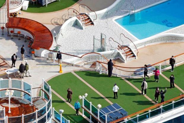 Du thuyền Diamond Princess: Xét nghiệm 1200 người có 355 ca nhiễm, tỉ lệ gần 30% chỉ từ 1 nguồn duy nhất - Tại sao cách ly rồi mà lây nhiễm nhiều như vậy?-3