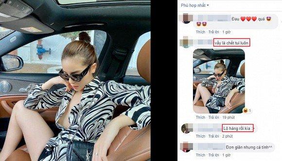 Cố tình phanh cúc áo tạo dáng bá đạo trên xe ô tô, Hoa hậu Kỳ Duyên bị soi hớ hênh điểm nhạy cảm-1