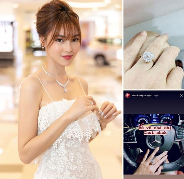 Ninh Dương Lan Ngọc sở hữu 2 nhà, xe sang, đồ hiệu, nhẫn kim cương-11