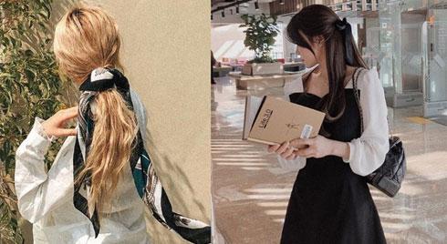 4 kiểu buộc nơ xinh điệu mê tơi nếu không copy từ gái Hàn thì bạn đúng là không có tinh thần làm đẹp