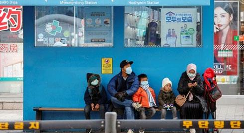 Hàn Quốc có thêm 161 ca nhiễm virus corona, 7 người đã tử vong