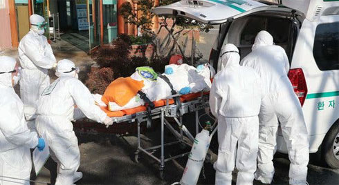 Hàn Quốc trở thành ổ dịch virus corona lớn thứ 2 thế giới: 7 người chết, 763 trường hợp nhiễm bệnh
