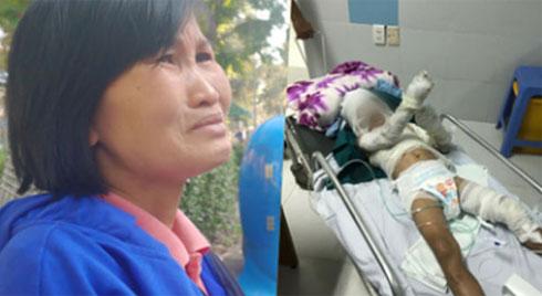 Lời kể bà ngoại bé trai bị dì ruột thiêu sống vì 3 triệu đồng: