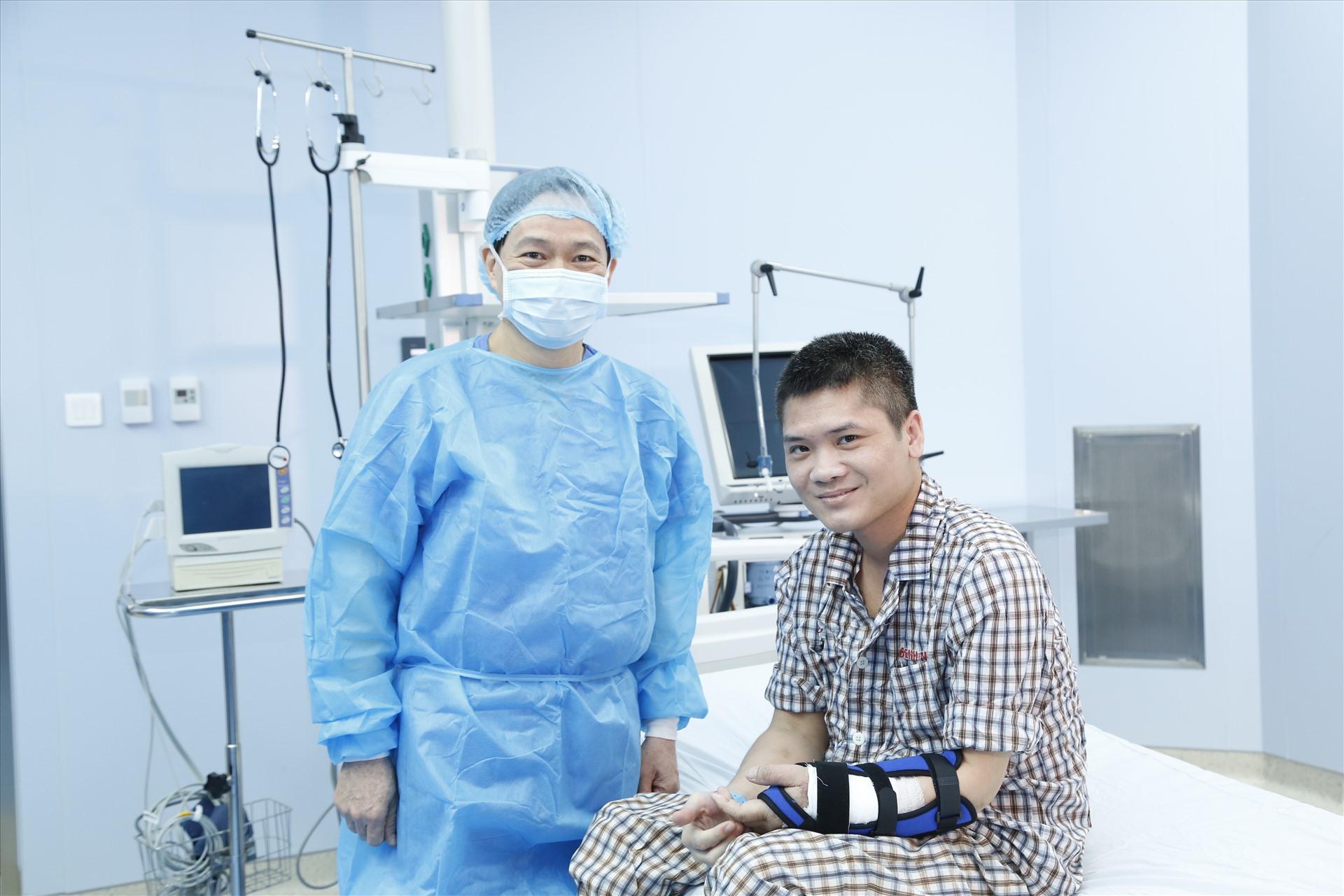 Ca ghép chi thể từ người cho sống đầu tiên trên thế giới là ở Việt Nam-6