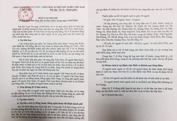 Vụ 80 người từ tâm dịch Daegu đến Đà Nẵng: 1 nam thanh niên bị sốt, 20 khách Hàn Quốc tạm chấp nhận cách ly tại bệnh viện-3